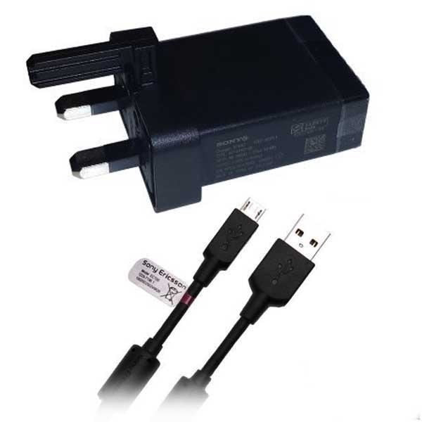 Official Sony Xperia Z5 Micro USB EP880 Mains Charger + Cable EC-450