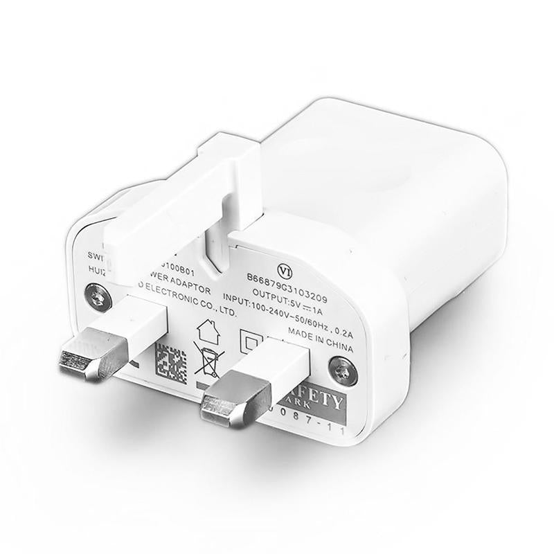 Official Huawei 1.0A Mains Plug Charger HW-050100B01 - White