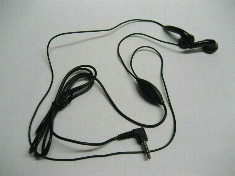 ALCATEL 3.5MM NEW HANDSFREE HEADSET with MIC Universal Use BLACK CCB0037A10C1