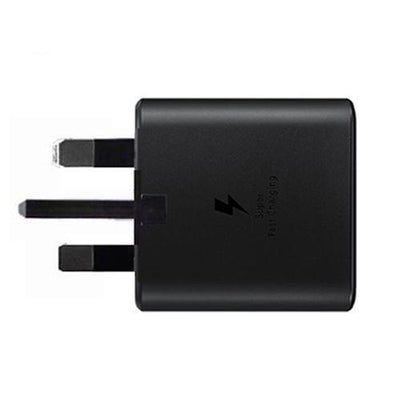 Official Samsung Galaxy Note 10 / Note 10 Plus 25W Fast UK Charger Black EP-TA800