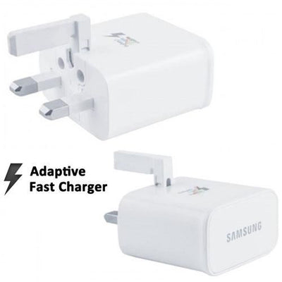 Samsung 2AMP UK Mains Fast Charger Adapter EP-TA20UWE for S5 S6 S6 Edge S7 S7 Edge (No Plastic Wrap)