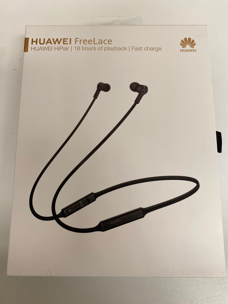 Huawei Freelace Earphones Bluetooth Wireless Original CM70 Headset - Black