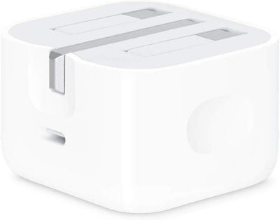Official Apple A1696 MU7W2B/A 18W UK 3 Pin USB Type C Charger