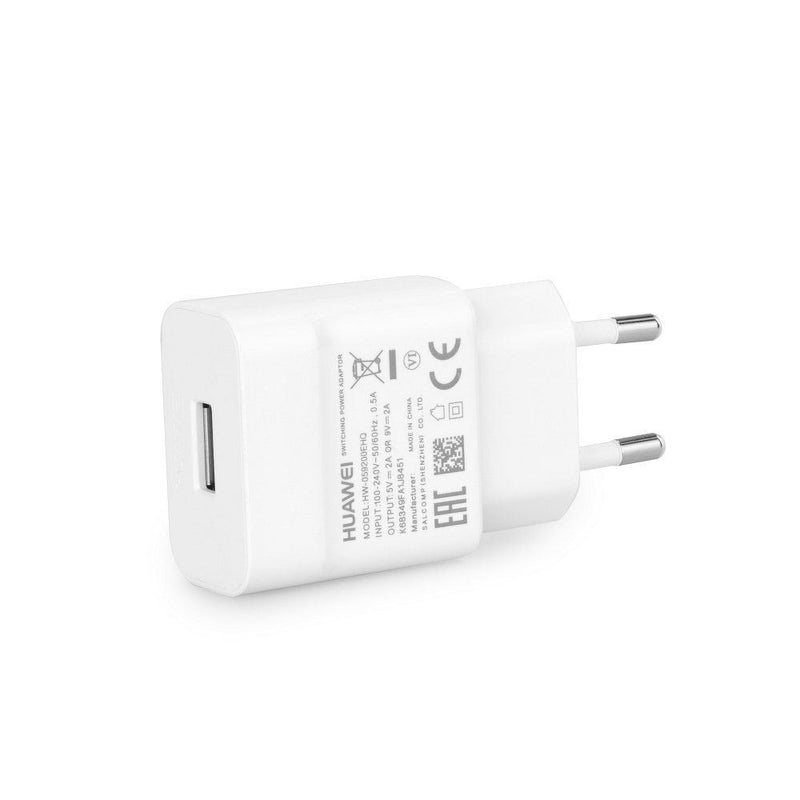Genuine Huawei 2 Pin Euro Plug HW-059200EHQ 2A QC Quick Charger Fast Charger