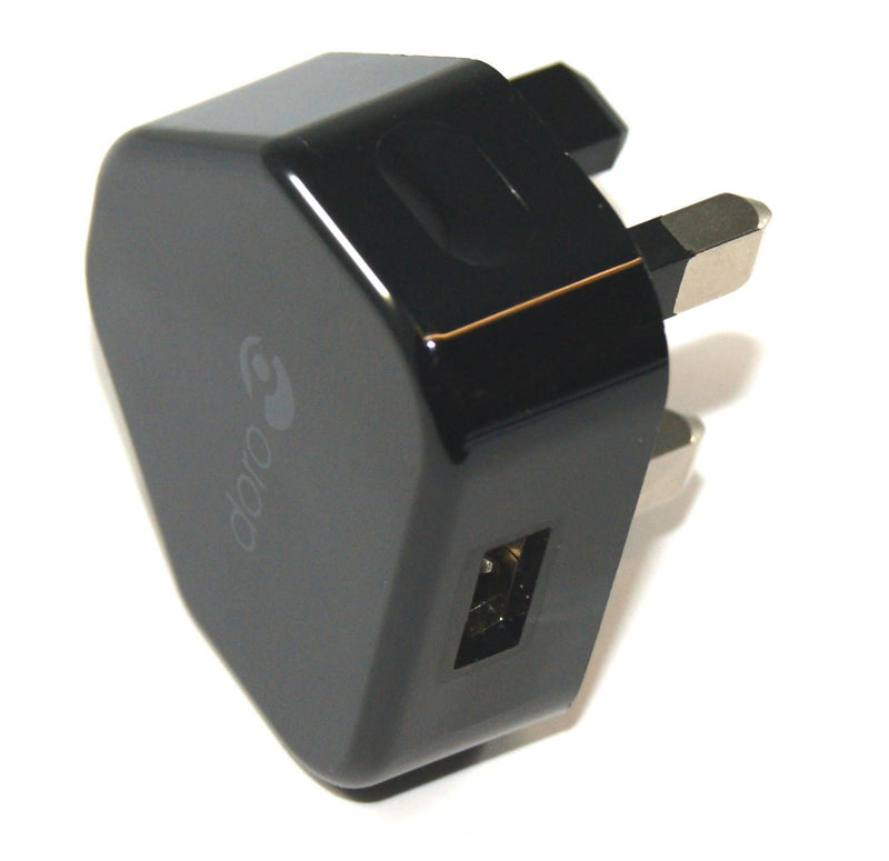 Genuine Doro HKC0055010-4S Wall Travel Charger PhoneEasy Models - 1 Amp