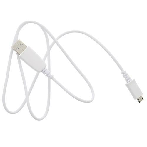 Official Samsung MicroUSB Cable - White ECB-DU28WE