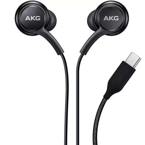 Official Samsung Galaxy S20/+/Ultra AKG USB-C Earphones Headphones - Black - GH59-15198A