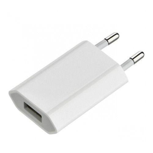 Official Apple 5W EU 2 Pin Mains Charging Adapter A1400 For iPhone, iPad, iWatch and iPod - 14 day