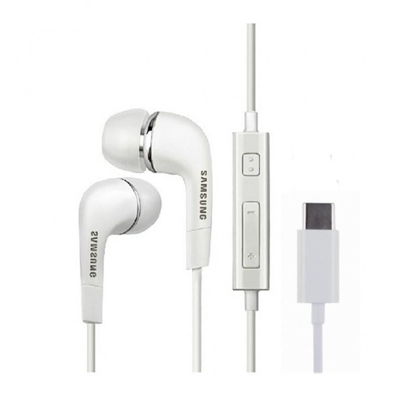 Genuine Samsung EHS64 Type C Headphones - White (GH59-15078A)
