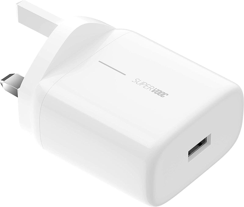 Oppo Super Vooc 50W Charger 3 Pin UK