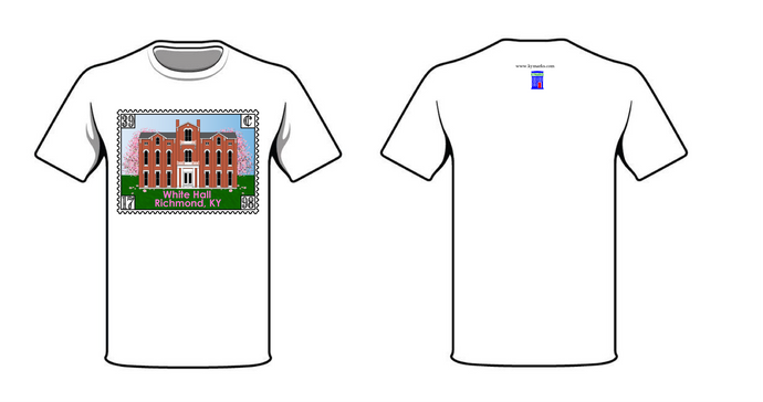 White Hall Stamp T-shirt