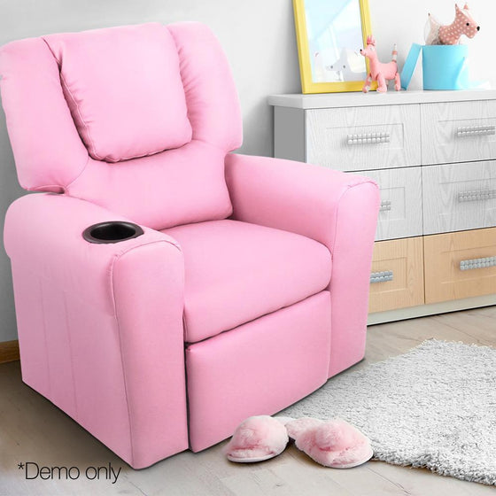 Outstanding Kids Leather Recliner Chair Pink Andrewgaddart Wooden Chair Designs For Living Room Andrewgaddartcom