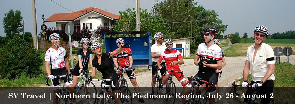 SV Travel - Northern Italy. The Piedmonte Region, July 26 - August 2