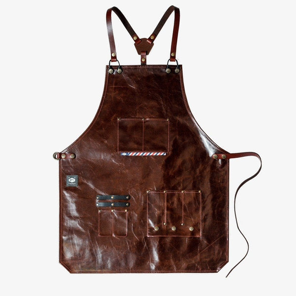Havie Barber Leather Apron / סינר ספרים - haviemnfct