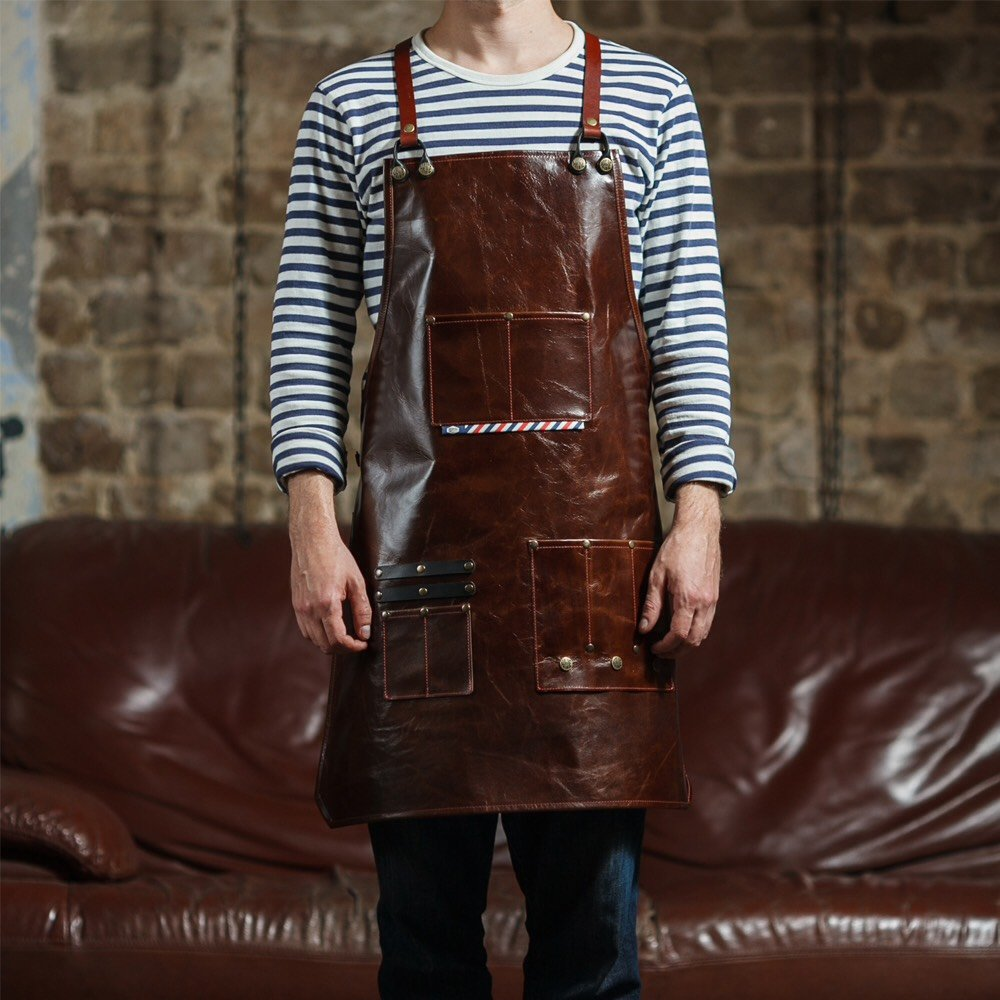 Barber Leather Apron - haviemnfct
