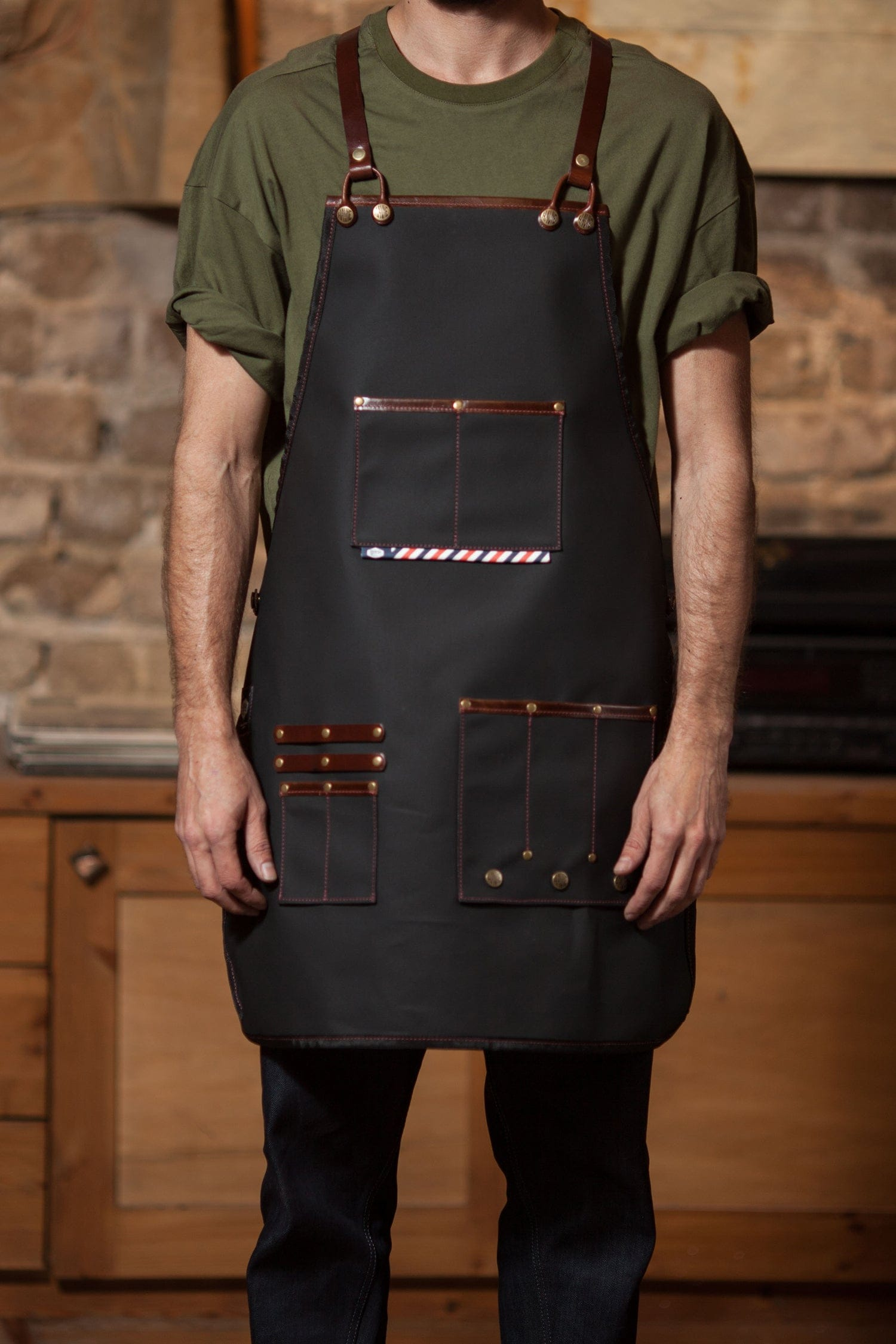 ORIGINAL BARBER APRON - haviemnfct