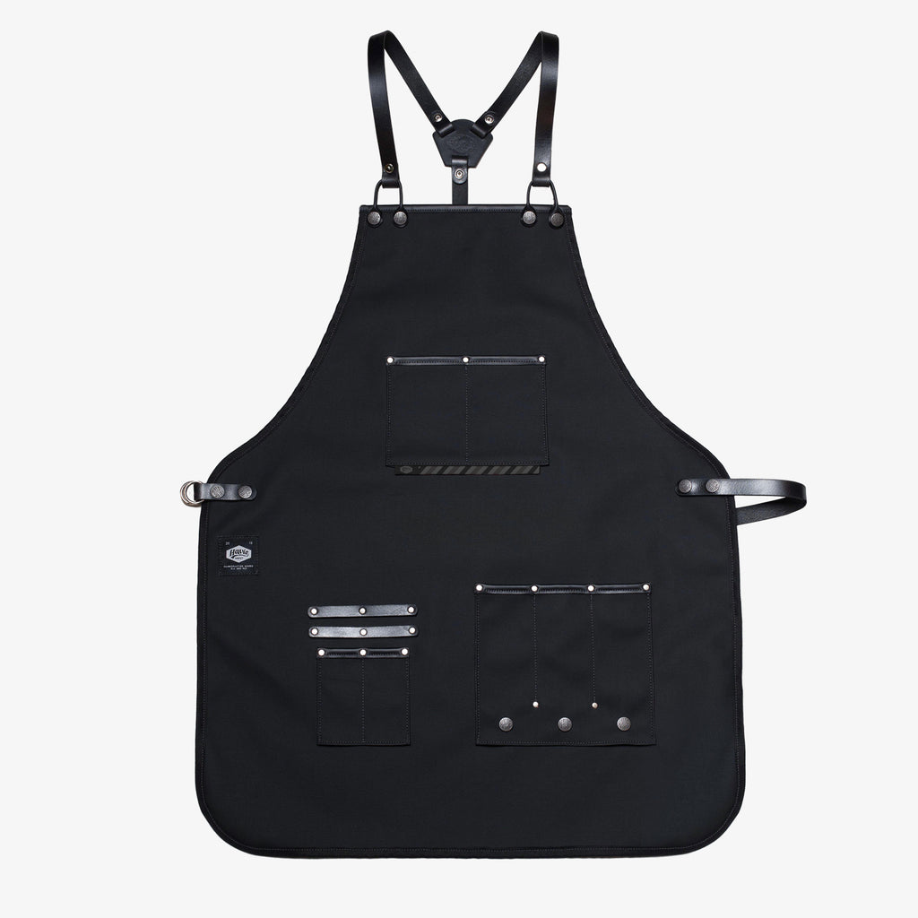 HAVIE CHROME BARBER APRON
