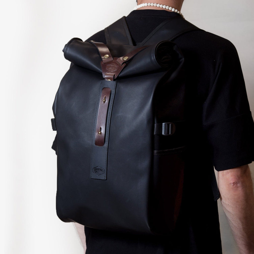 HAVIE BOSTON ROLLTOP BACKPACK - haviemnfct