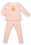 Sale! Girl's Snow Flake Pajamas - Mouche Kids