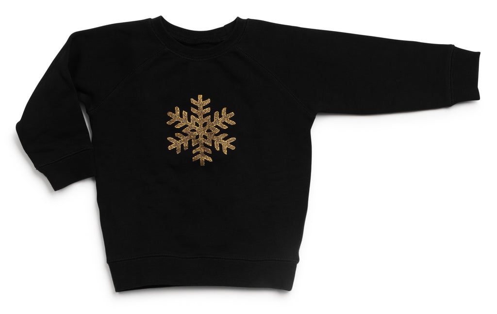 Sale! Snow Flake Sweat Top - Mouche Kids