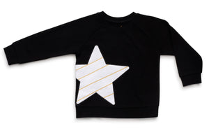 Star Sweat Top - Mouche Kids