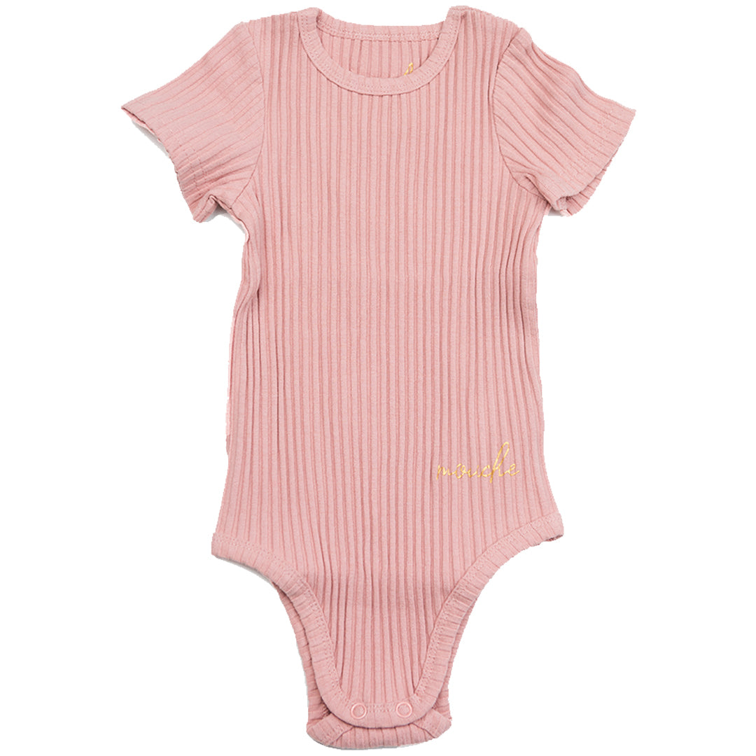 Ribbed Onesie - Mouche Kids