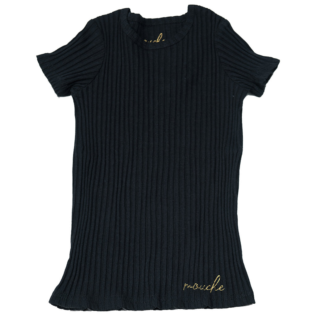 Ribbed T-Shirts - Mouche Kids