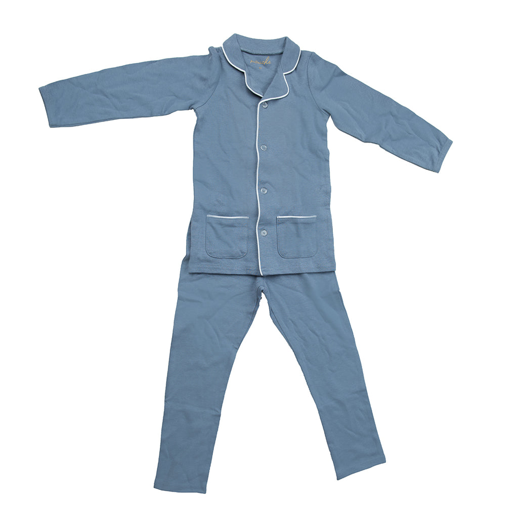 Grandfather Pajamas - Mouche Kids