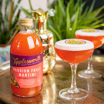 Tipplesworth launches the Passion Fruit Martini Mixer