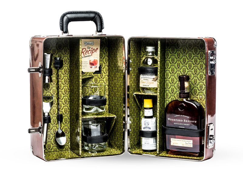 Old Fashioned Cocktail Case