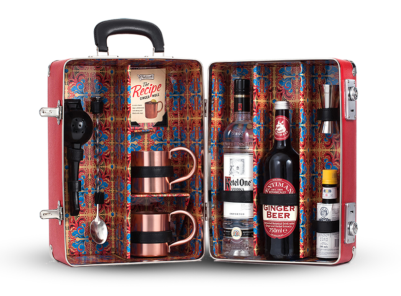 Ginger Mule Cocktail Case