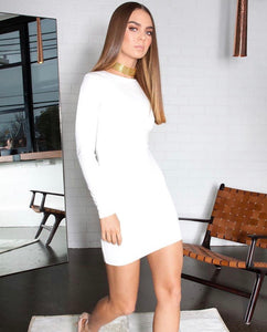 FRANKIE MINI DRESS LONG SLEEVE