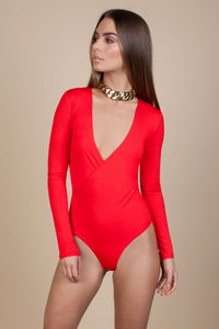 WRAP BODYSUIT