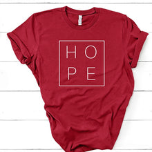 Load image into Gallery viewer, Hope T-shirt for Women (100% Cotton) - Rezmera