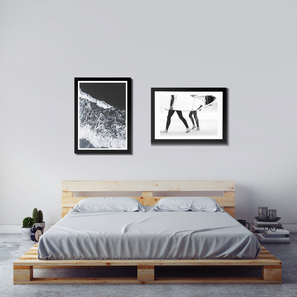 Surfs Up - Art Print Duo