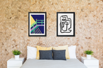Mixed Mediums, Contemporary Art Print Set