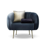 Dusk Blue Accent Chair Combo