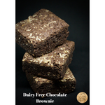 Dairy free chocolate brownie