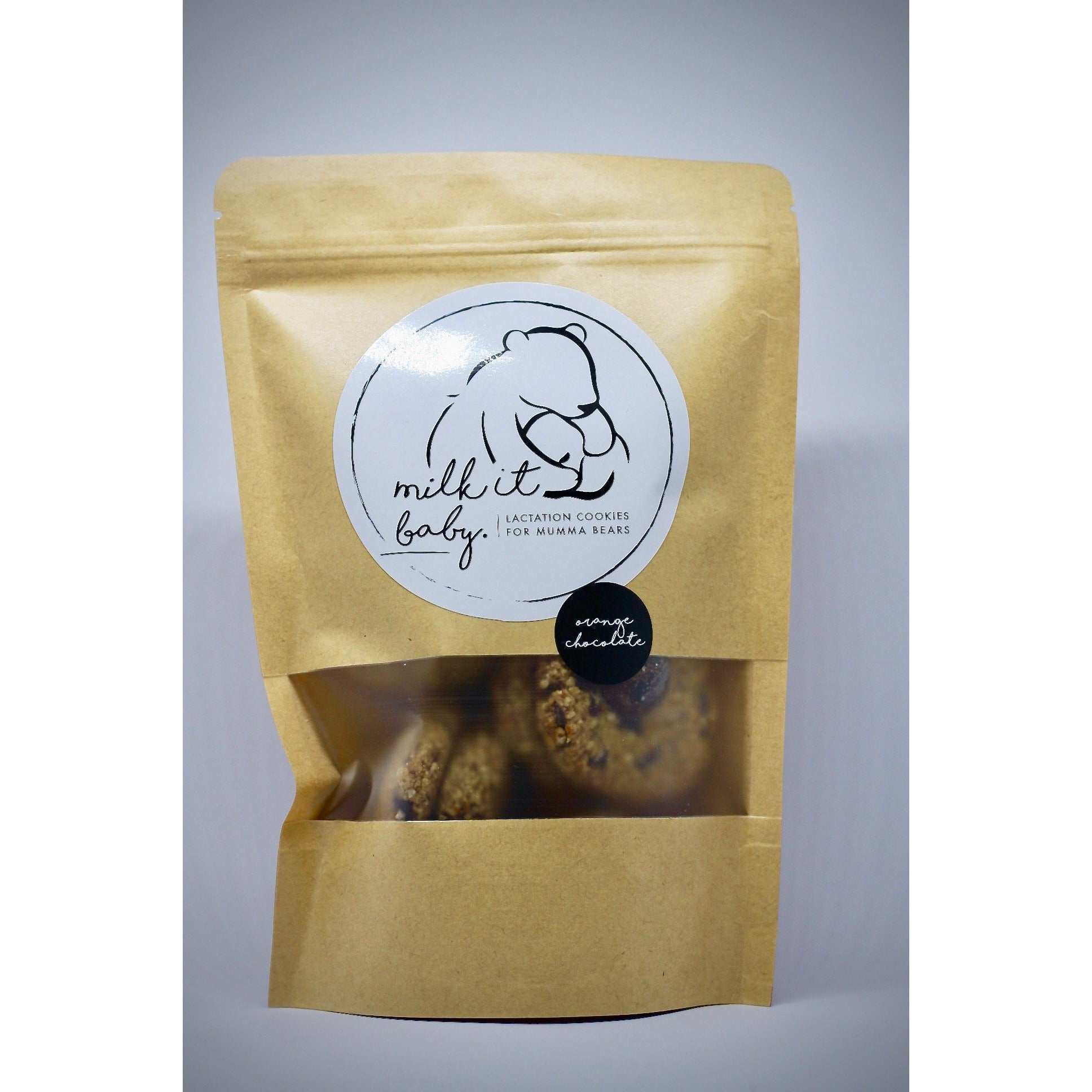 bag of lactation cookies