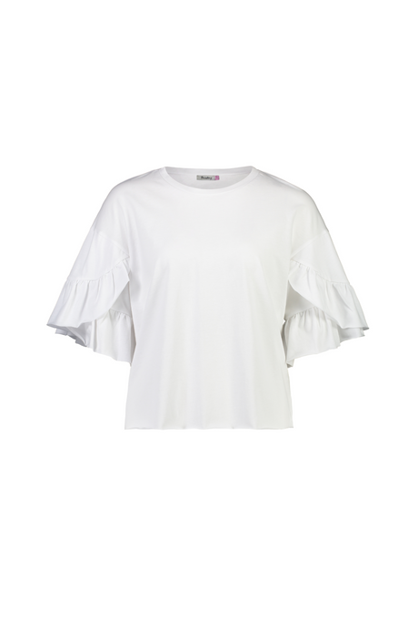 Harriet Tee | White Knit