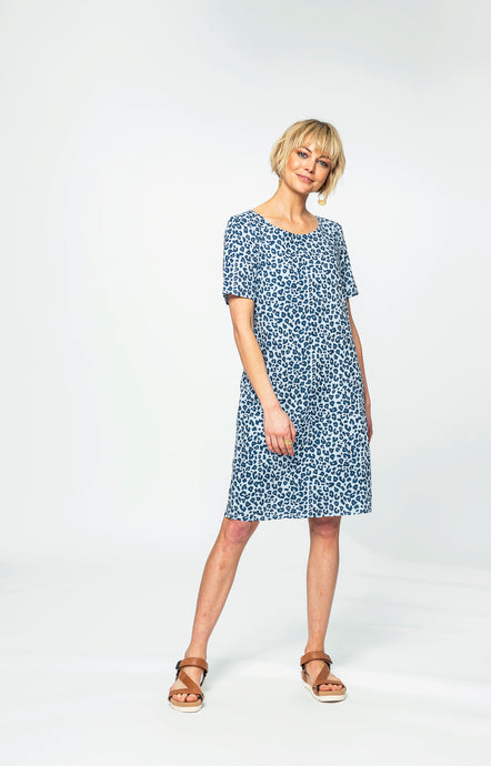 Kelly Dress | Leo linen