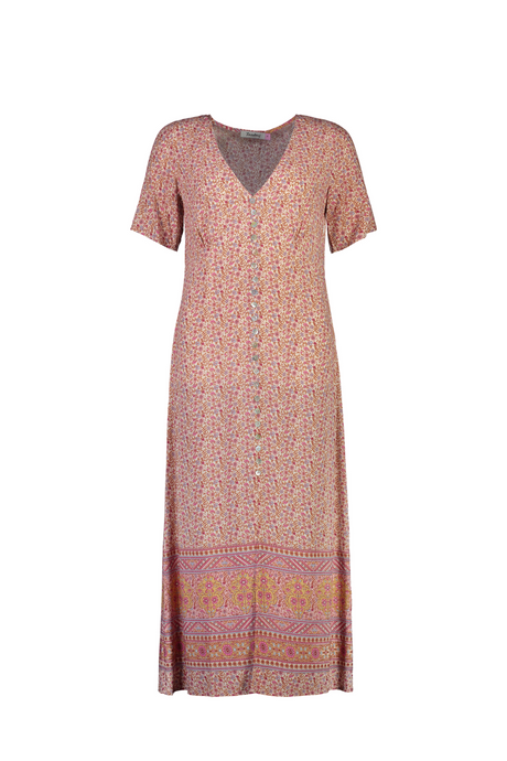 Aroha Dress | Pink Magic