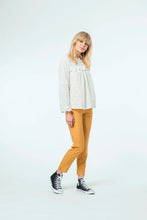 Load image into Gallery viewer, Willow Top & Jade Pant - White Snow & Mustard.jpg