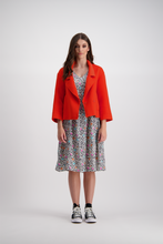 Emma Wool Coat | Orange