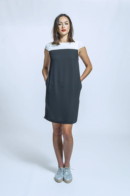 261 Paula Dress - black white.jpg