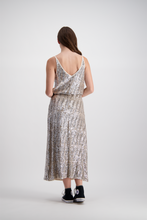 Meredith Skirt | Silver Disco
