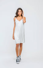 Satiny Slip | White