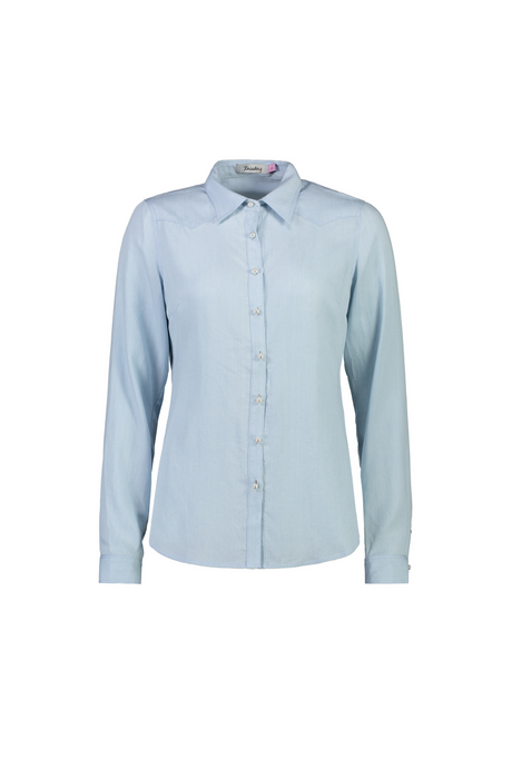 Veronica Shirt | Faded Blue