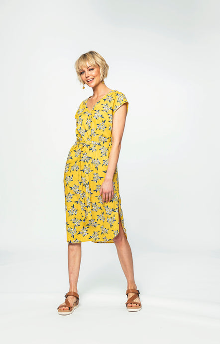 Miriam Dress| Yellow Jasmine