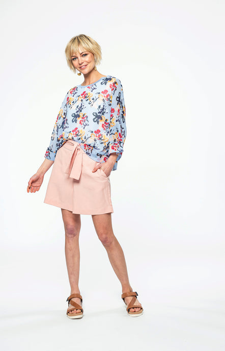 Bernadine Top | Abstract Bloom